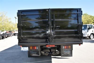 2018 LCF 4500 Crew Cab 4x2,  Martin's Quality Truck Body Landscape Dump #M18718 - photo 8
