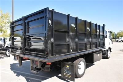 2018 LCF 4500 Crew Cab 4x2,  Martin's Quality Truck Body Landscape Dump #M18718 - photo 2