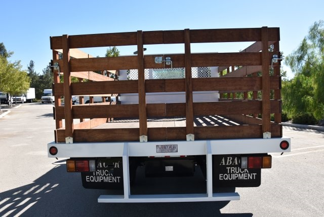 2018 LCF 4500 Regular Cab,  Abacor Inc Flat/Stake Bed #M18720 - photo 8