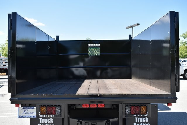 2018 LCF 4500 Regular Cab 4x2,  Martin's Quality Truck Body Landscape Dump #M18721 - photo 10