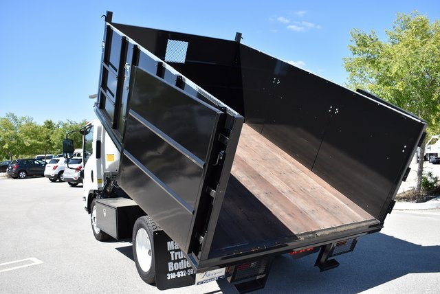2018 LCF 4500 Regular Cab 4x2,  Martin's Quality Truck Body Landscape Dump #M18721 - photo 14