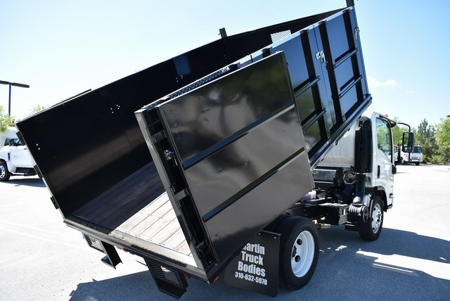 2018 LCF 4500 Regular Cab 4x2,  Martin's Quality Truck Body Landscape Dump #M18721 - photo 16