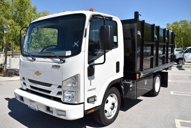 2018 LCF 4500 Regular Cab 4x2,  Martin's Quality Truck Body Landscape Dump #M18721 - photo 6