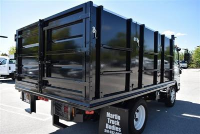 2018 LCF 4500 Regular Cab 4x2,  Martin's Quality Truck Body Landscape Dump #M18721 - photo 2
