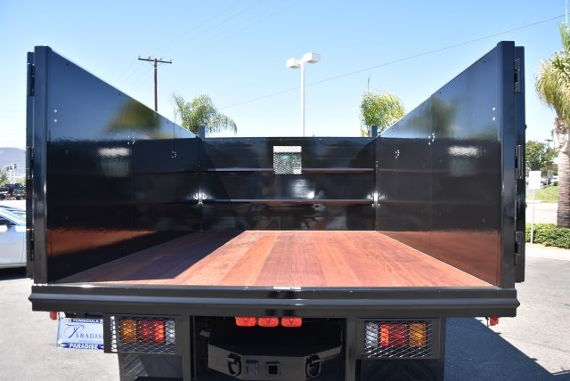 2018 LCF 4500 Regular Cab 4x2,  Martin's Quality Truck Body Landscape Dump #M18722 - photo 10