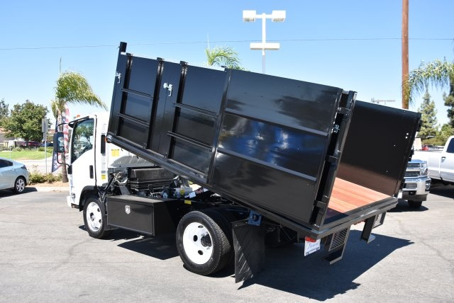 2018 LCF 4500 Regular Cab 4x2,  Martin's Quality Truck Body Landscape Dump #M18722 - photo 14