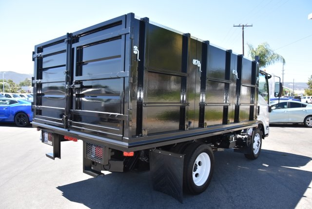 2018 LCF 4500 Regular Cab 4x2,  Martin's Quality Truck Body Landscape Dump #M18722 - photo 2