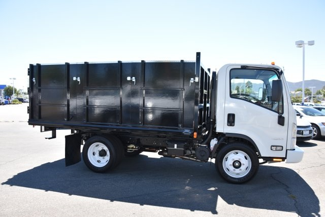 2018 LCF 4500 Regular Cab 4x2,  Martin's Quality Truck Body Landscape Dump #M18722 - photo 9