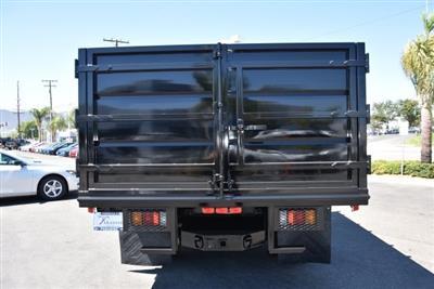 2018 LCF 4500 Regular Cab 4x2,  Martin's Quality Truck Body Landscape Dump #M18722 - photo 8