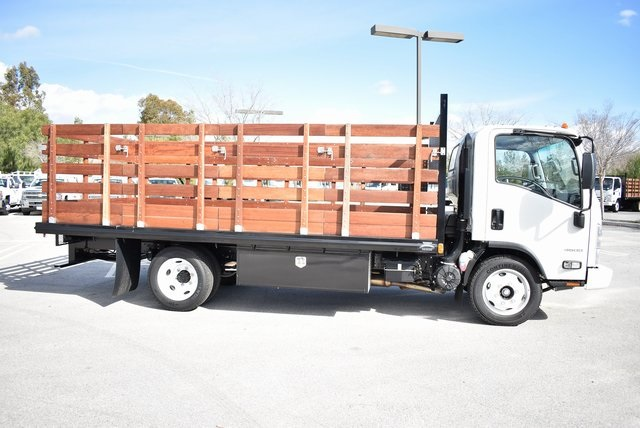 2018 LCF 4500 Regular Cab 4x2,  Martin's Quality Truck Body Flat/Stake Bed #M18727 - photo 10