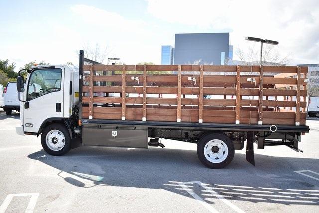 2018 LCF 4500 Regular Cab 4x2,  Martin's Quality Truck Body Flat/Stake Bed #M18727 - photo 8