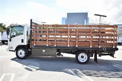 2018 LCF 4500 Regular Cab 4x2,  Martin's Quality Truck Body Flat/Stake Bed #M18727 - photo 8