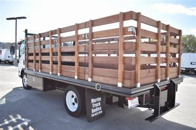 2018 LCF 4500 Regular Cab 4x2,  Martin's Quality Truck Body Flat/Stake Bed #M18727 - photo 9