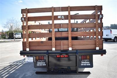 2018 LCF 4500 Regular Cab 4x2,  Martin's Quality Truck Body Flat/Stake Bed #M18727 - photo 3