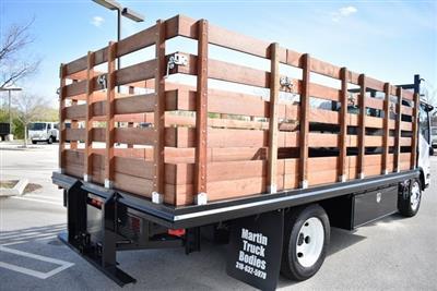 2018 LCF 4500 Regular Cab 4x2,  Martin's Quality Truck Body Flat/Stake Bed #M18727 - photo 2