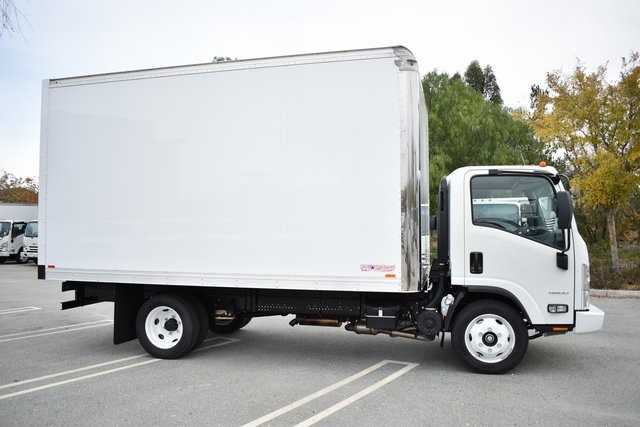 2018 LCF 4500 Regular Cab 4x2,  American Truck Bodies Straight Box #M18732 - photo 17