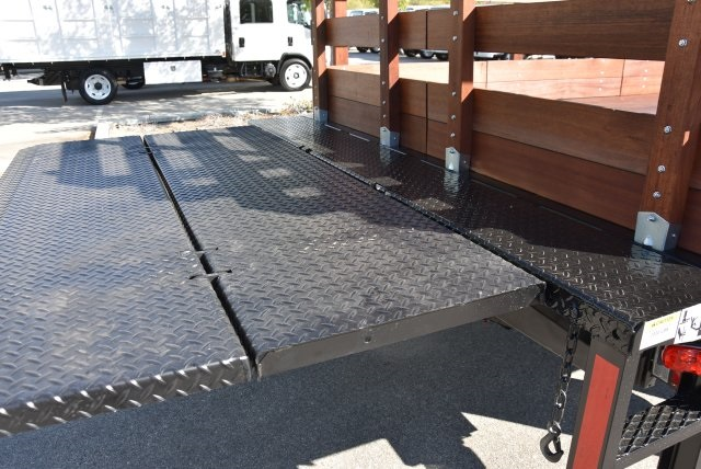 2018 LCF 4500 Regular Cab 4x2,  Martin's Quality Truck Body Flat/Stake Bed #M18734 - photo 11