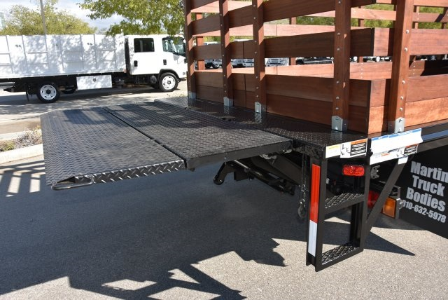 2018 LCF 4500 Regular Cab 4x2,  Martin's Quality Truck Body Flat/Stake Bed #M18734 - photo 12