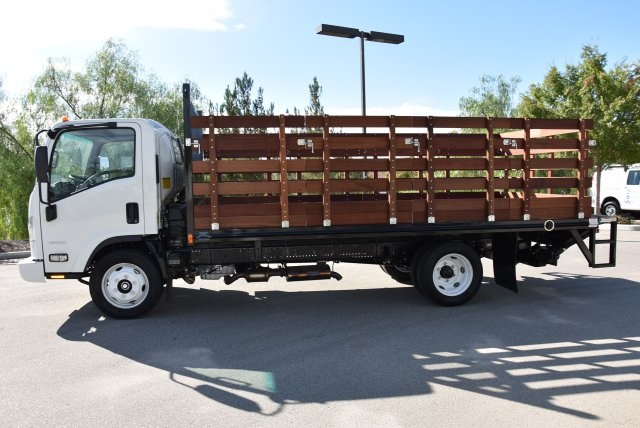 2018 LCF 4500 Regular Cab 4x2,  Martin's Quality Truck Body Flat/Stake Bed #M18734 - photo 5
