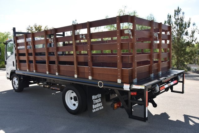 2018 LCF 4500 Regular Cab 4x2,  Martin's Quality Truck Body Flat/Stake Bed #M18734 - photo 6