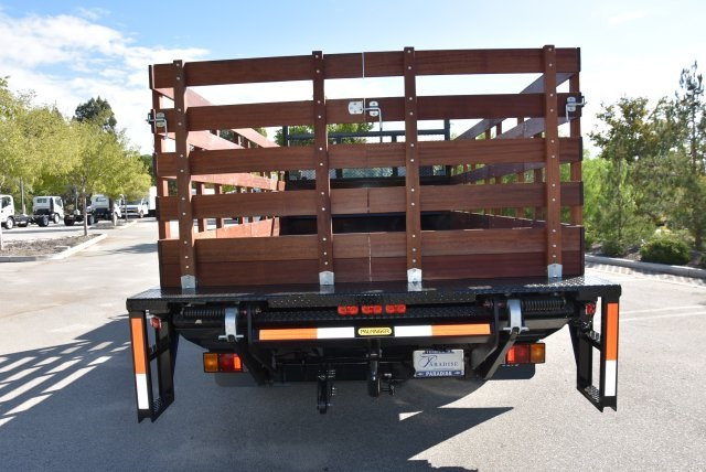 2018 LCF 4500 Regular Cab 4x2,  Martin's Quality Truck Body Flat/Stake Bed #M18734 - photo 7