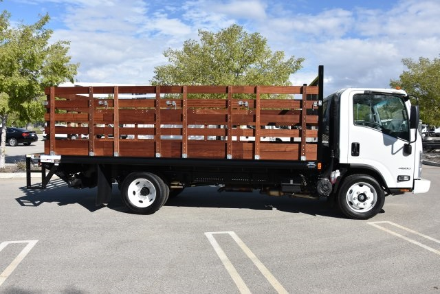 2018 LCF 4500 Regular Cab 4x2,  Martin's Quality Truck Body Flat/Stake Bed #M18734 - photo 8