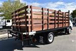 2018 LCF 4500 Regular Cab 4x2,  Martin's Quality Truck Body Flat/Stake Bed #M18734 - photo 1