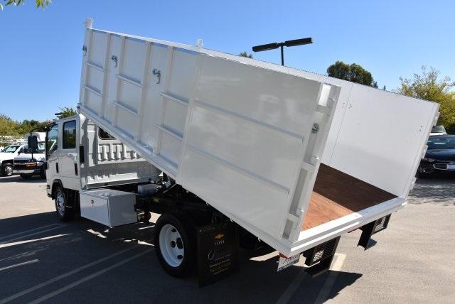 2018 LCF 4500 Crew Cab 4x2,  Martin's Quality Truck Body Landscape Dump #M18740 - photo 14
