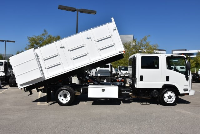 2018 LCF 4500 Crew Cab 4x2,  Martin's Quality Truck Body Landscape Dump #M18740 - photo 17