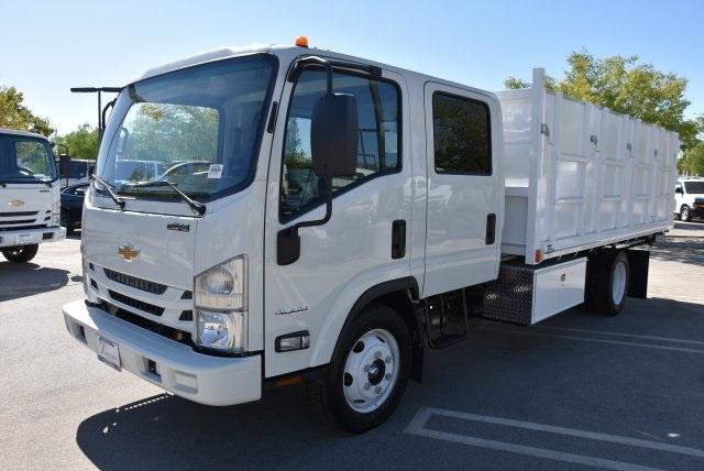2018 LCF 4500 Crew Cab 4x2,  Martin's Quality Truck Body Landscape Dump #M18740 - photo 5