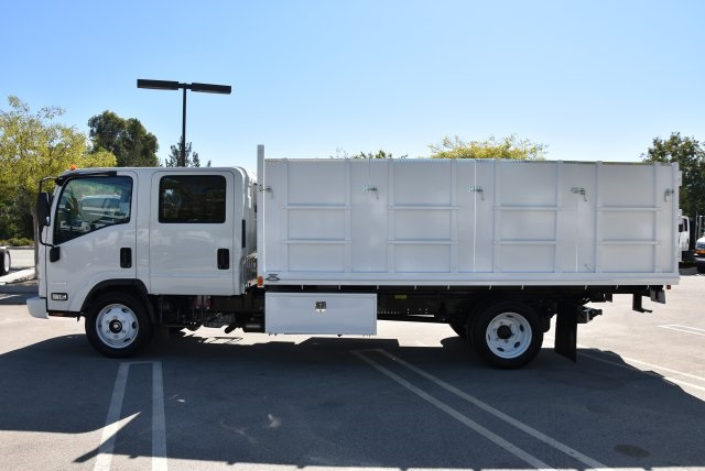 2018 LCF 4500 Crew Cab 4x2,  Martin's Quality Truck Body Landscape Dump #M18740 - photo 6