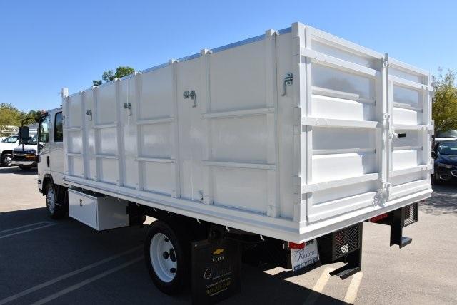 2018 LCF 4500 Crew Cab 4x2,  Martin's Quality Truck Body Landscape Dump #M18740 - photo 7