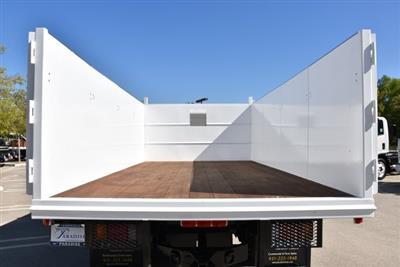 2018 LCF 4500 Crew Cab 4x2,  Martin's Quality Truck Body Landscape Dump #M18740 - photo 11
