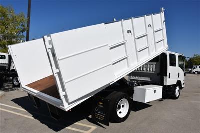 2018 LCF 4500 Crew Cab 4x2,  Martin's Quality Truck Body Landscape Dump #M18740 - photo 16