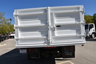 2018 LCF 4500 Crew Cab 4x2,  Martin's Quality Truck Body Landscape Dump #M18740 - photo 8