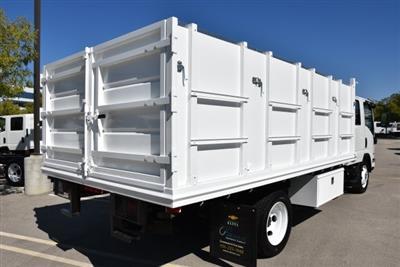 2018 LCF 4500 Crew Cab 4x2,  Martin's Quality Truck Body Landscape Dump #M18740 - photo 2