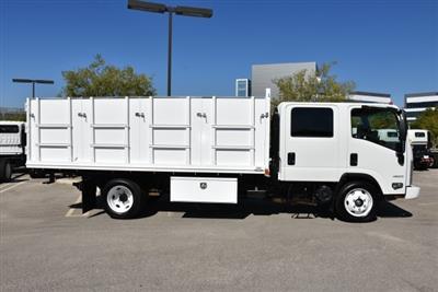 2018 LCF 4500 Crew Cab 4x2,  Martin's Quality Truck Body Landscape Dump #M18740 - photo 9