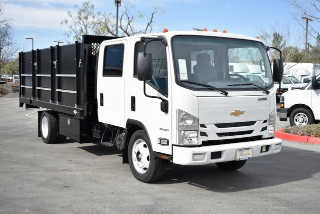 2018 LCF 4500 Crew Cab 4x2, Custom Truck Body & Equipment Landscape Dump #M18747 - photo 1