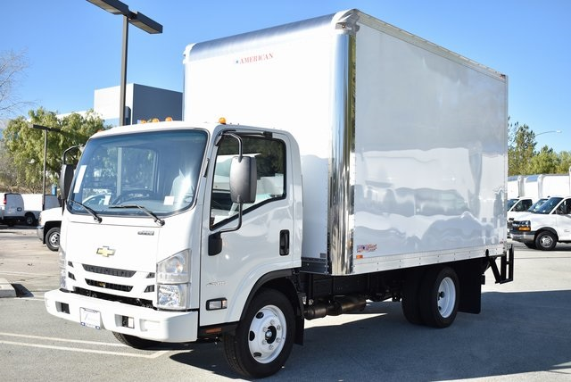 2018 LCF 4500 Regular Cab 4x2,  American Truck Bodies Dry Freight #M18756 - photo 12