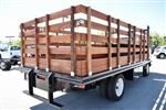2018 LCF 4500 Regular Cab 4x2,  Martin's Quality Truck Body Flat/Stake Bed #M18757 - photo 1