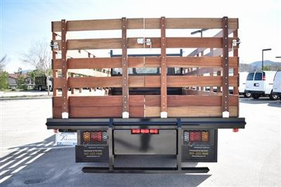 2018 LCF 4500 Regular Cab 4x2,  Martin's Quality Truck Body Flat/Stake Bed #M18763 - photo 8