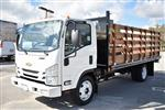 2018 LCF 4500 Regular Cab 4x2,  Martin's Quality Truck Body Flat/Stake Bed #M18763 - photo 6
