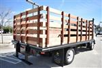 2018 LCF 4500 Regular Cab 4x2,  Martin's Quality Truck Body Flat/Stake Bed #M18763 - photo 2