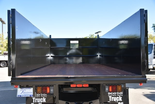 2018 LCF 4500 Regular Cab 4x2,  Martin's Quality Truck Body Landscape Dump #M18764 - photo 10