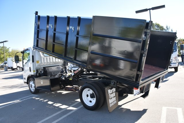2018 LCF 4500 Regular Cab 4x2,  Martin's Quality Truck Body Landscape Dump #M18764 - photo 13
