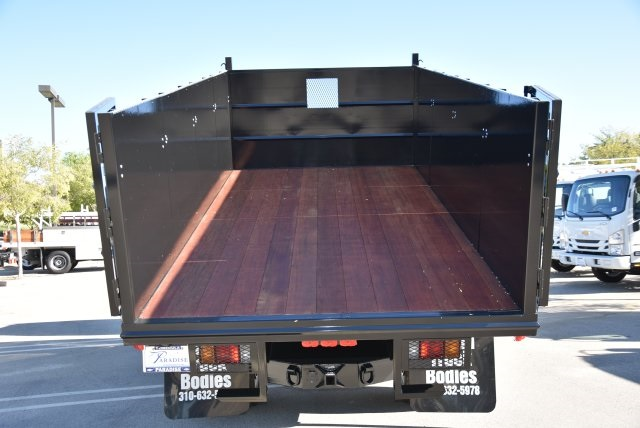 2018 LCF 4500 Regular Cab 4x2,  Martin's Quality Truck Body Landscape Dump #M18764 - photo 14