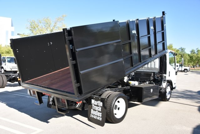 2018 LCF 4500 Regular Cab 4x2,  Martin's Quality Truck Body Landscape Dump #M18764 - photo 15