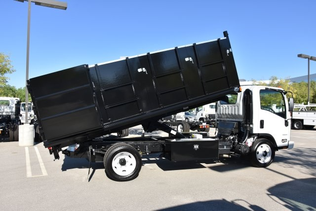 2018 LCF 4500 Regular Cab 4x2,  Martin's Quality Truck Body Landscape Dump #M18764 - photo 16