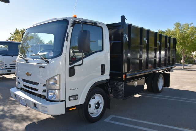 2018 LCF 4500 Regular Cab 4x2,  Martin's Quality Truck Body Landscape Dump #M18764 - photo 5
