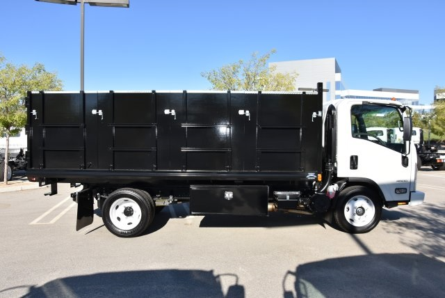 2018 LCF 4500 Regular Cab 4x2,  Martin's Quality Truck Body Landscape Dump #M18764 - photo 9